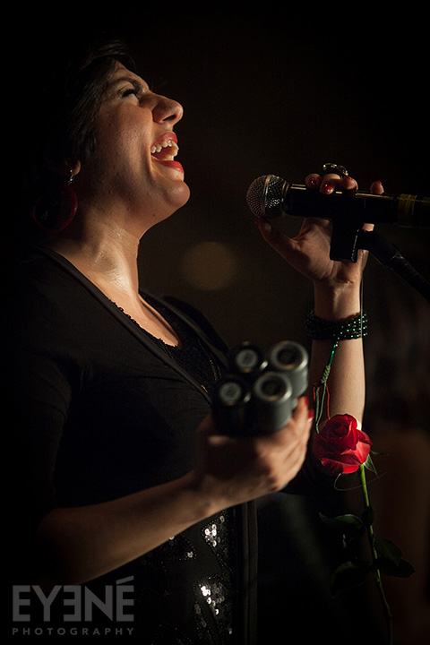 Abzeez band playing at Parya Trillium Foundation Gala. Toronto, Canada. Photo: Saman Aghvami/ EYENÉ