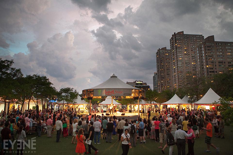 Tirgan Festival. Toronto, Canada. Photo: Saman Aghvami/ EYENÉ